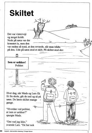 Julemandens læsebog side 68-2