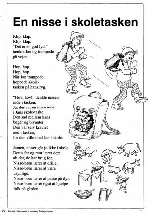 Julemandens læsebog side 27-2
